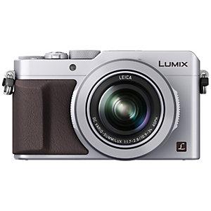 Panasonic Lumix DMC-LX100 kompaktkamera (sølv)