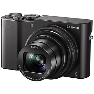 Panasonic Lumix DMC-TZ100 kompaktkamera (sort)