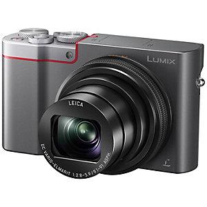 Panasonic Lumix DMC-TZ100 kompaktkamera (sølv)