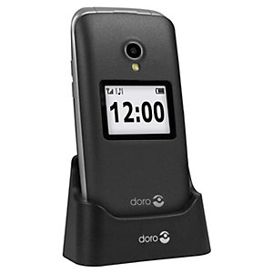 Doro 2424 matkapuhelin (harmaa)