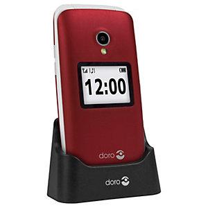Doro 2424 matkapuhelin (punainen)