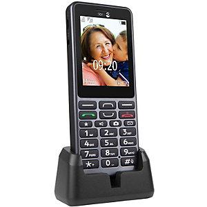 Doro PhoneEasy 509 Mobiltelefon (stål)