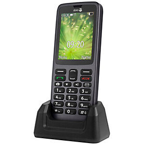 Doro 5517 mobiltelefon (sort)