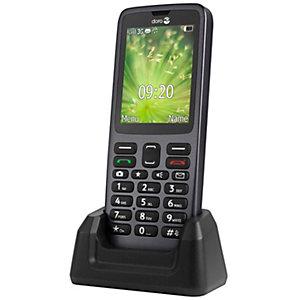 Doro 5517 mobiltelefon (svart)