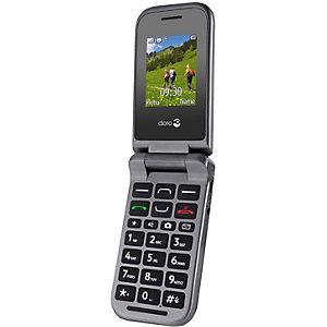 Doro PhoneEasy 609 Mobiltelefon (stål)