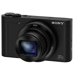Sony WX500 kompaktkamera (sort)
