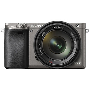 Sony Alpha A6000 systemkamera og 16-50 mm obj. (grå)
