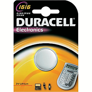 Duracell paristo CR1616