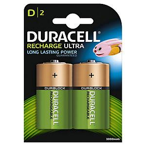 Duracell Recharge Plus D 3000mAh 2 stk