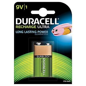Duracell Recharge Plus 9V 170mAh 1 stk