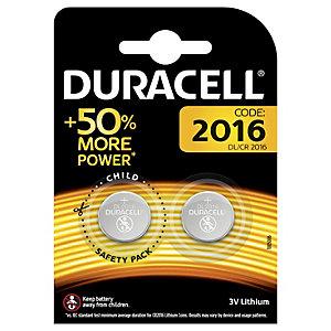 Duracell Batteri CR2016 Knappcell 3 V (2 st)