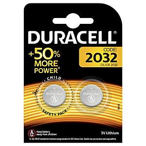 Duracell Batteri CR2032 Knappcell 3 V (2 st)