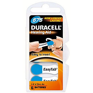 DURACELL BATTERY HEARING AID D