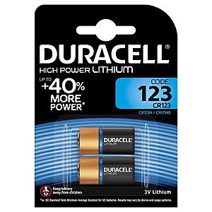 Duracell Batteri Ultra Photo CR123A (2 st)