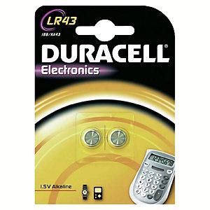 Duracell Batteri LR43 Knappcell 1,5 V (2 st)