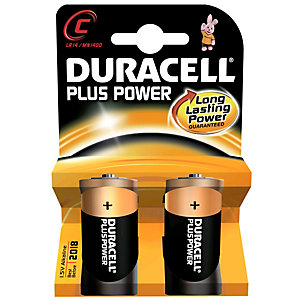 Duracell Batteri C Plus Power (2 st)