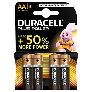 Duracell Batterier AA Plus Power (4 st)