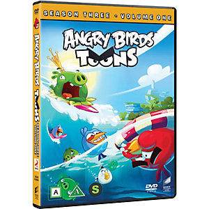 Angry Birds Toons - Säsong 3 Vol 1 (DVD)