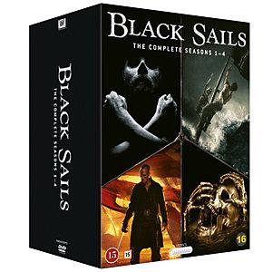 Black Sails - Sesong 1-4 (DVD)