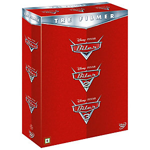 Biler (Cars) 1–3 samleboks (DVD)