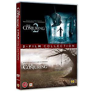Conjuring filmsamling 2 filmer (DVD)