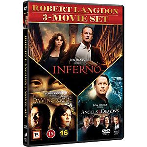 Robert Langdon 3 Movie Set (DVD)