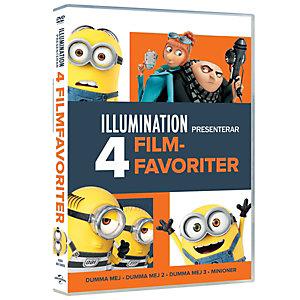 Illumination 4 - Movie Collection (DVD)
