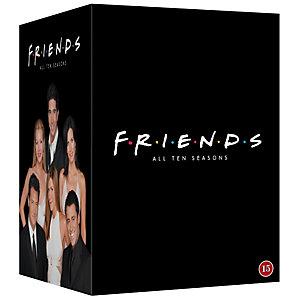 Vänner - Säsonger 1-10 Samlingsbox (DVD)