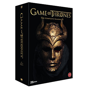 Game of Thrones - Säsong 1-5 Box (DVD)