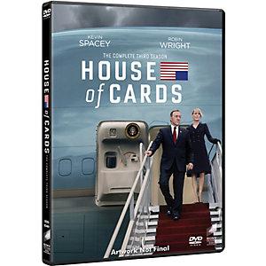 House of Cards - Kausi 3 (DVD)