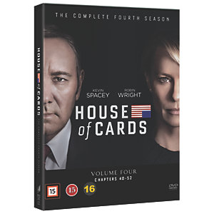 House of Cards: sesong 4 (DVD)