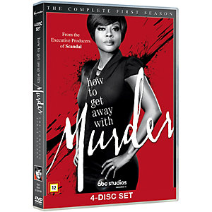How to Get Away with Murder - Kausi 1 (DVD)