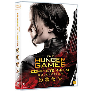 Hunger Games 1-4 - Complete Box (DVD)