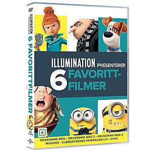 Illumination 6-films samling (DVD)