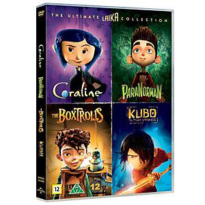 Laika 4 elokuvan kokoelma (DVD)