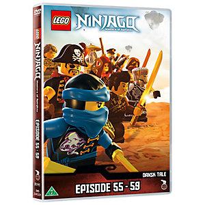 Lego Ninjago Episode 55-59 (DVD)