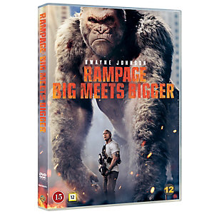 Rampage: Iso kohtaa isomman (DVD)