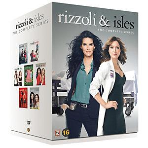 Rizzoli & Isles - Kausi 1 -7 (DVD)