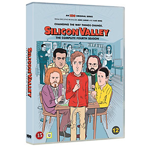 Silicon Valley - Säsong 4 (DVD)