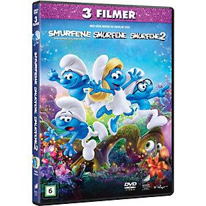 Smurfene 1-3 samleboks (DVD)