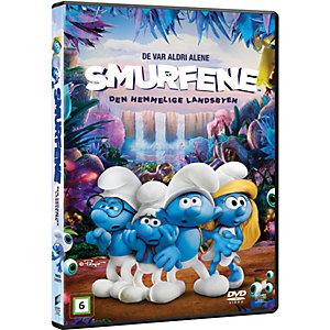 Smurfene: Den hemmelige landsbyen (DVD)