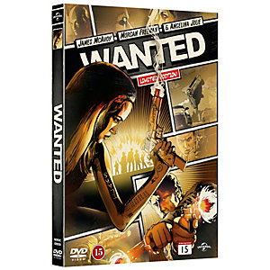 Wanted - Comic Book Collection (DVD)
