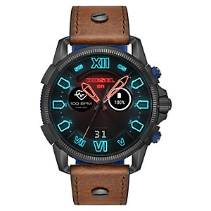 Diesel Full Guard 2.5 smartwatch (grå/blå/brun)