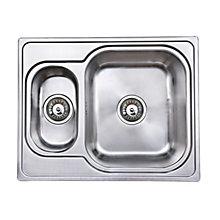 Epoq Silver kjøkkenvask 63x50 cm