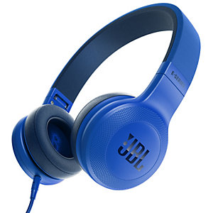 JBL E35 on-ear hörlurar (blå)