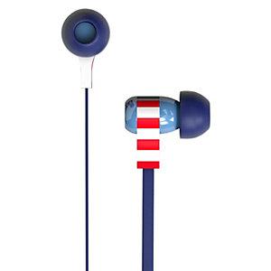 Tribe Swing Captain American in-ear hodetelefoner