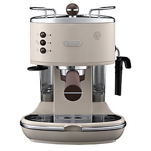 DeLonghi Icona espressomaskin ECOV311BK (grädde)