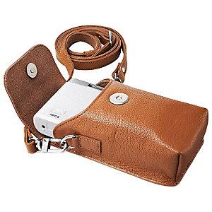Samsung Läderfodral till NX mini kompaktkamera (brun)