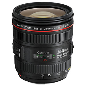 Canon EF 24-70mm f/4L IS USM objektiv (sort)