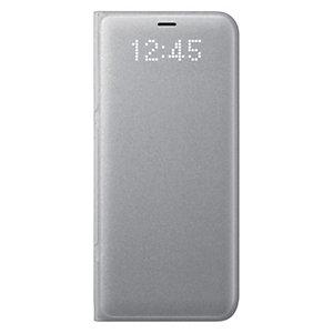 Samsung Galaxy S8 LED View deksel (sølv)
